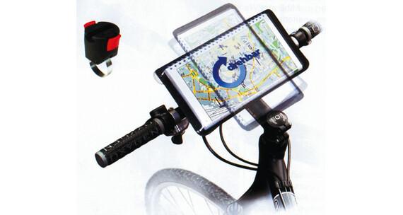 KlickFix Freeliner-kartanpidike pyörälaukku , valkoinen
